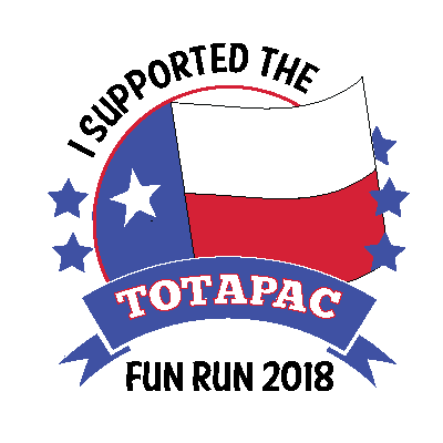 TOTA PAC - FUN RUN 2018 Badge